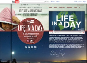Life In a Day User Generated Film