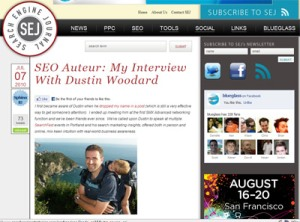 Dustin Woodard UGC SEO Interview