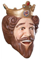 burger king mask on Amazon